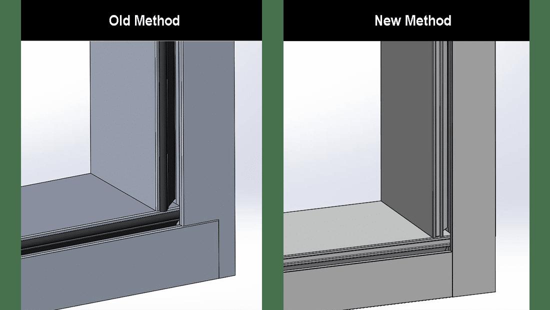 Series 3800-T fabrication method