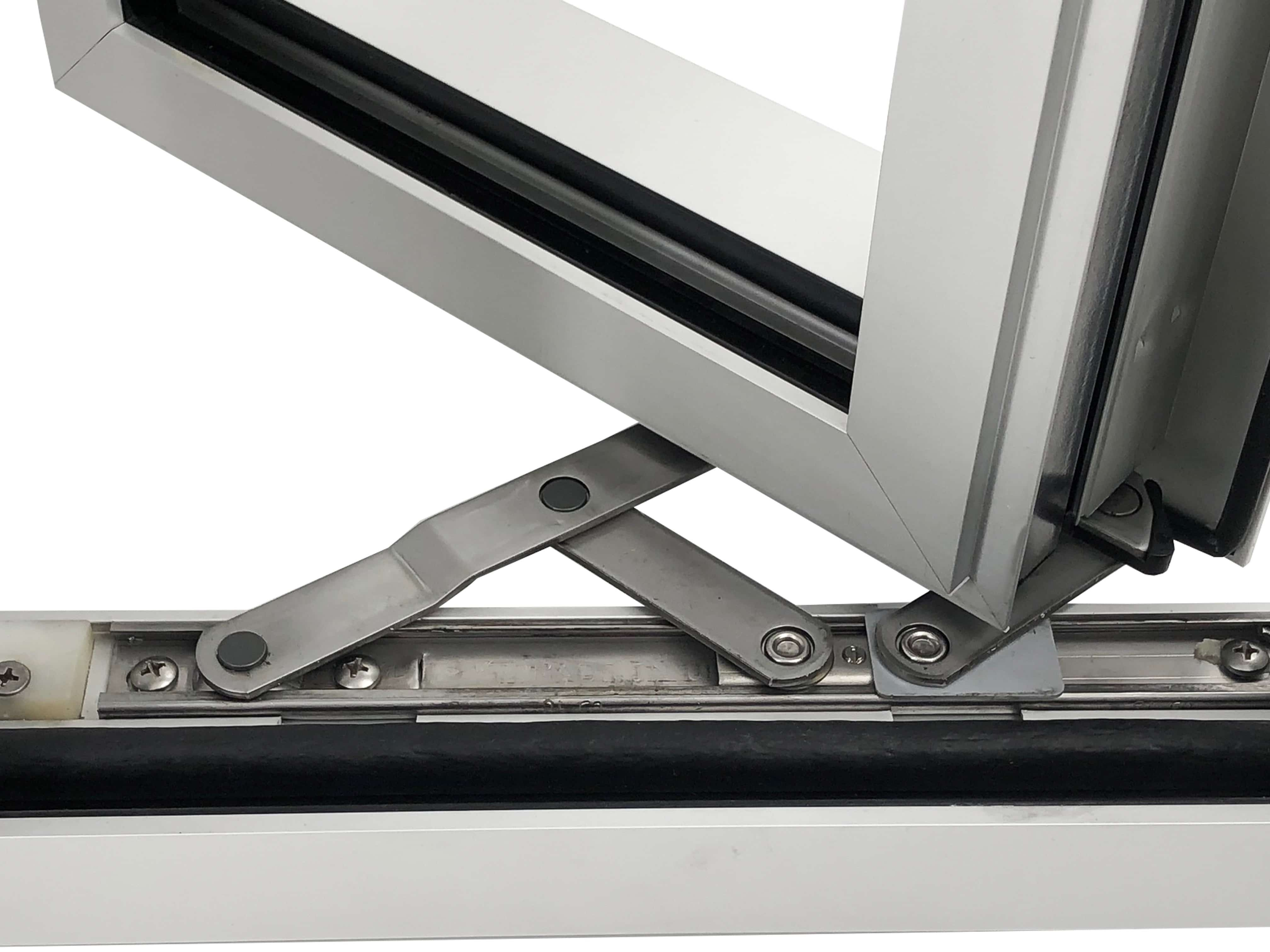 Series 450-T 4Bar Hinges open