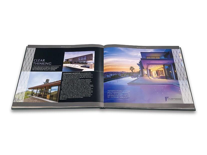Fleetwood editorial spread in Aston Martin publication