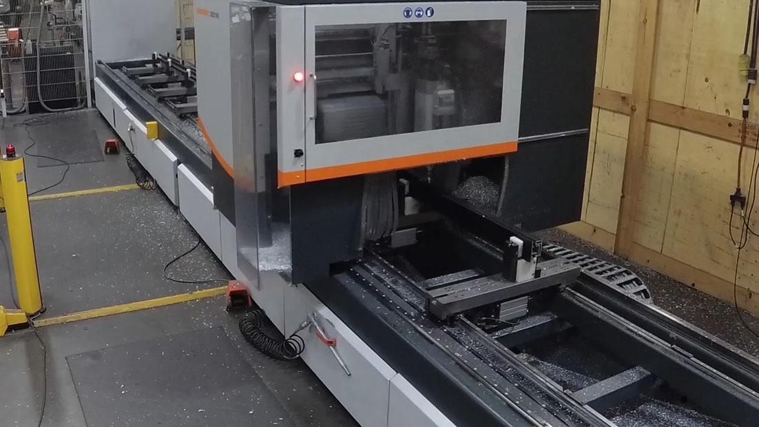 Computer Numerical Control (CNC) machine in Fleetwood shop