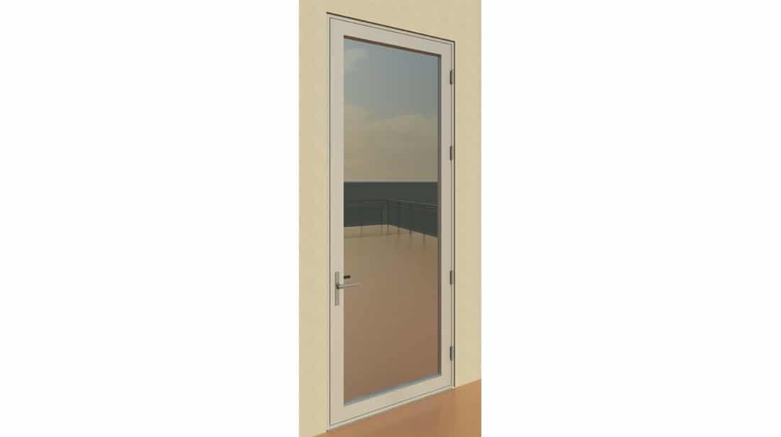 Series 3200-T Hinged Door