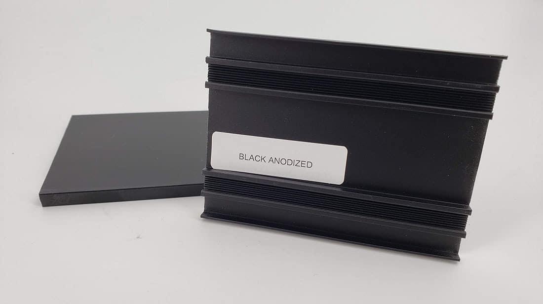 Black Anodize Sample